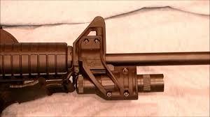 ar 15 light mount elzetta zfh1500 tactical light mount review youtube