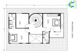 1 bhk floor plan for 22 x 35 feet plot 774 square feet