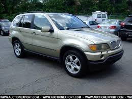 2001 bmw x5 for sale used 2001 bmw x5 4 4i wagon 4 door car for sale at auctionexport