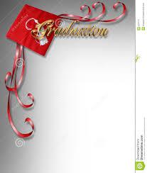 Invitation Graduation Cards Graduation Card Invitation 3d Corner Design Stock Image Image