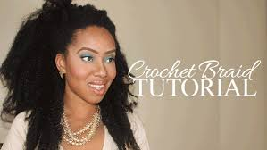 what hair to use for crochet braids how to crochet braid w a bobby pin blackhairkitchen