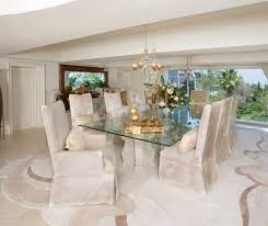 Plain Glass Table Dining Room In Design - Dining room table glass