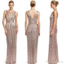 discount gold color elegant evening dresses 2018 gold color