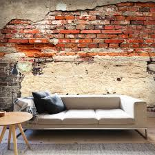 Wohnzimmer Ziegeloptik Fototapeten Ebay