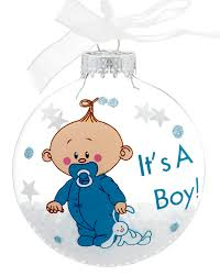 it s a boy personalized ornament