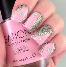 nail designs using rhinestones choice image nail art designs