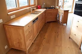 cuisine bois brut meuble cuisine en bois brut bois massif homewreckr co
