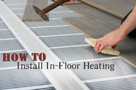 how to install in floor heat how to build it