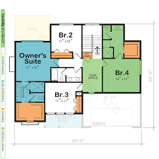 House Plans With 2 Master Suites Modern Small Home Lake Designs