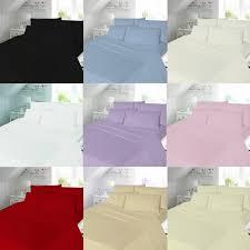 Plain Duvet Cover Plain Brushed Cotton Flannelette Duvet Cover Bedding Set Payndoo