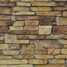 How To Paint A Faux Brick Wall - faux stone wall from foam sheet painted after using heat gun to