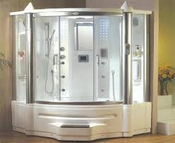 steam shower enclosure and whirlpool massage bath tub tub for with