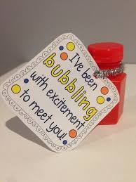 clever back to gift for kids i u0027ve been bubbling to meet