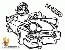 coloring pages exquisite wario coloring pages 114 super mario