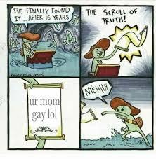 Lol Meme - ur mom gay lol meme xyz