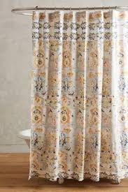Shower Curtains Unique Boho Shower Curtains Liners Anthropologie