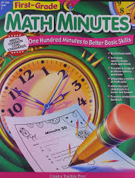 amazon com math minutes 1st grade 9781574718126 kim cernek books