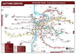 Prague Subway Map by Location U2013 Transport U2013 Axro