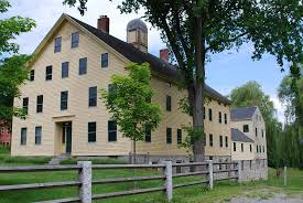 south family dwelling house and wash house harvard shaker village