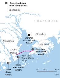 Zhuhai China Map by Zhuhai Airport Could Act As Hong Kong U0027s U0027fourth Runway U0027 In Bid To