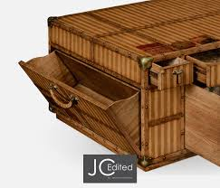 Trunk Style Coffee Table Trunk Style Coffee Tables