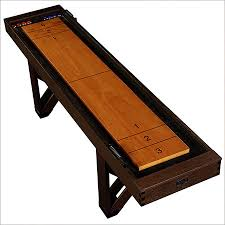 barrington 9 solid wood shuffleboard table shuffleboard table 9 feet classic solid wood playroom cabinet