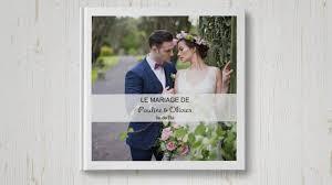livre photo mariage exemple de livre romantique à créer pour un mariage d exception