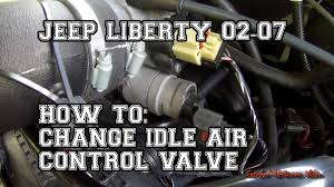 how to change idle air control valve iac youtube