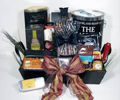 gift baskets for men metro upscale gift basket for men