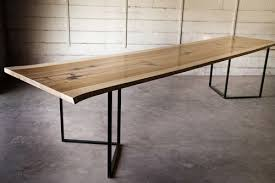 Live Edge Conference Table Hardwood Reclamation Live Edge Custom Tables