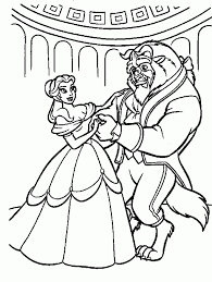 47 beauty and the beast coloring pages cartoons printable coloring