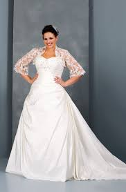 wedding dresses with sleeves plus size beautiful plus size
