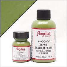 Green Paint by Angelus Avocado Green Paint Angelus Direct Paints
