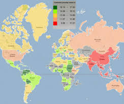 Age Of Consent Map These 10 Maps Tell You Everything You Need To Know About The World