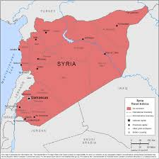 Current Map Of Middle East by Smartraveller Gov Au Syria