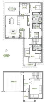 most efficient house plans plan 1611sl contemporary bungalow house plan solar plans
