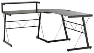 bureaux verre bureau en verre fly bureau turbo en verre trempe noir achat et