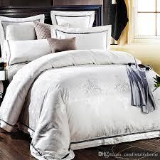Pure Cotton Duvet Covers Hotel High End Bedding European Style Four Piece 1 5 M 2 0 M Quilt