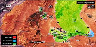 Damascus Syria Map by Water Crisis In Damascus Ends After Syrian Army Enters Wadi Barada