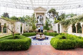 Missouri Botanical Gardens Missouri Botanical Garden And Chestnut Brewery Engagement