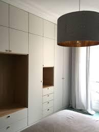 placard chambre sur mesure placard chambre sur mesure avec niches en placage chêne bedroom