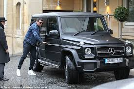 mercedes that looks like a jeep tamer hassan climbs into his 160k mercedes jeep ahead of of