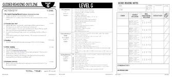 sample guided reading lesson plan template the autism helper