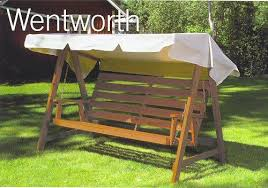 metal swing bench trend 22 made in sweden the wentworth 3 seater