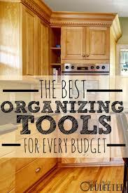 Kitchen Organization Ideas Budget 473 Best Organize Images On Pinterest Organizing Ideas