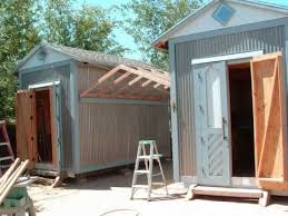 120 sq ft i finished building the twin shed s step by step no permets