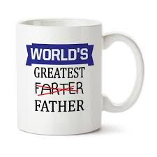 gift for dad world u0027s greatest farter father funny mug father u0027s day cup gift