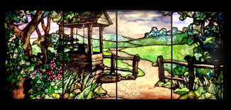 tiffany glass painting with color and light u2013 byu museum of art