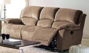 Microfiber Reclining Sofa Microsuede Reclining Sofa And Loveseat Sleeper Brown Microfiber