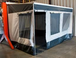 Rv Awning Screen Room Carefree Unveils New Lines At Elkhart Facility Rv Business